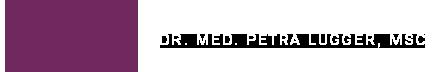 Dr. Petra Lugger, MSc Logo